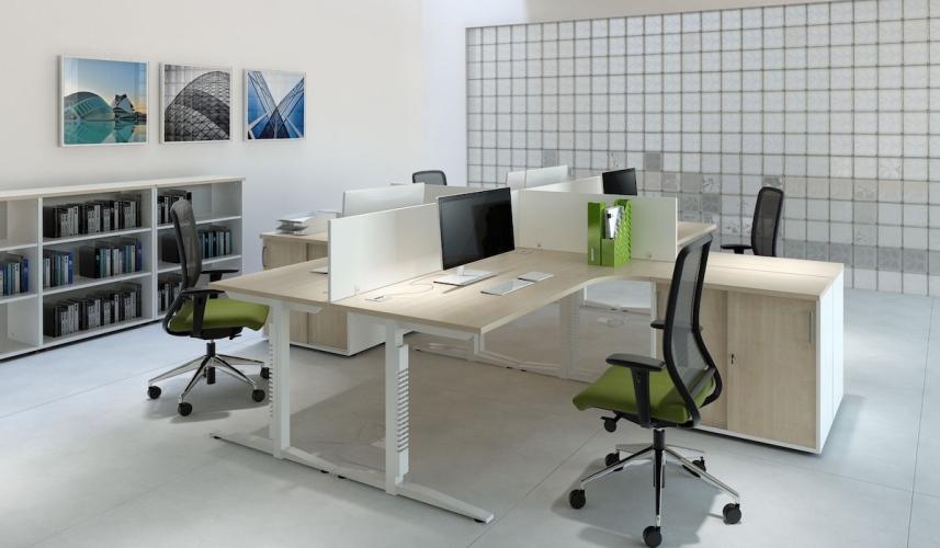 Bardzo dobra Praca w ciąży – przy biurku i komputerze - Meble biurowe YJ02