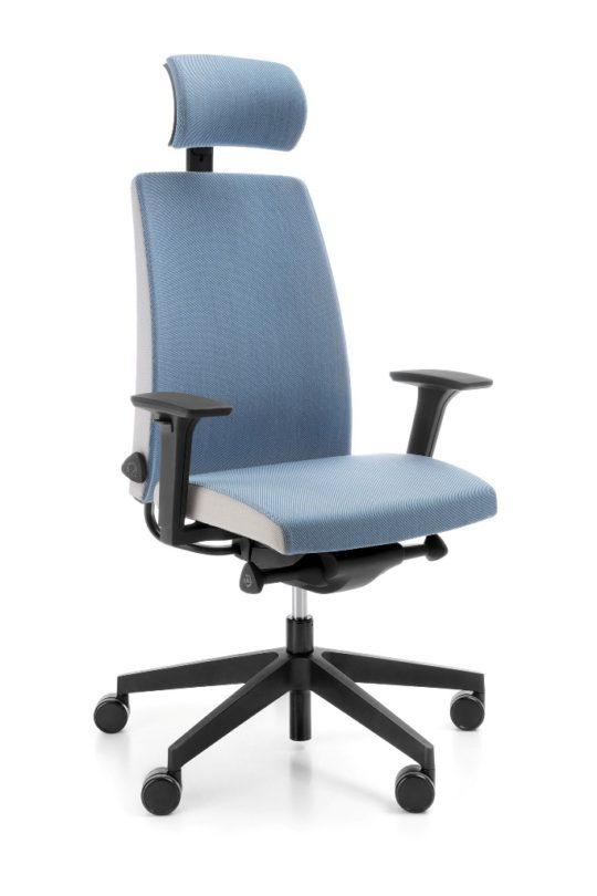 Fotel MOTTO 11SFL-czarny-P61PU