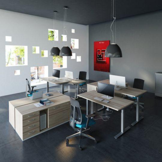 INUP_biurka podnoszone elektrycznie