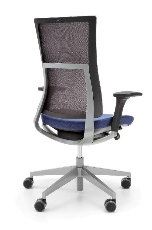 Krzeslo Violle 150SFL grafit P62PU_Profim