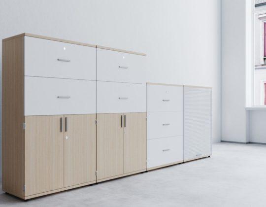 Meble biurowe TORO-szafy