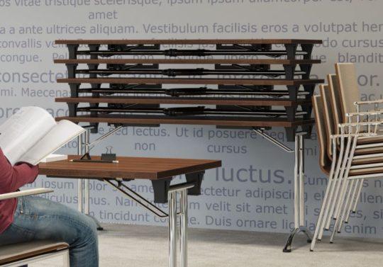stoly skladane - sztaplowanie