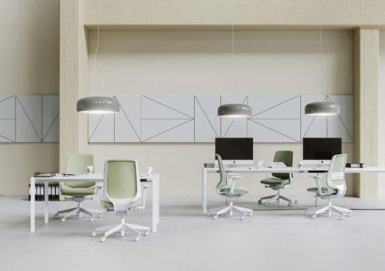 Fotele LightUp 230 jasny szary - Profim