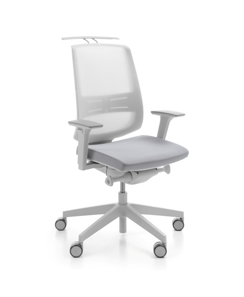 LightUp 250SFL light grey P61PU HA lumbar support Type B