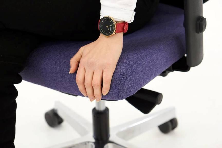 Tapicerowane siedzisko fotela