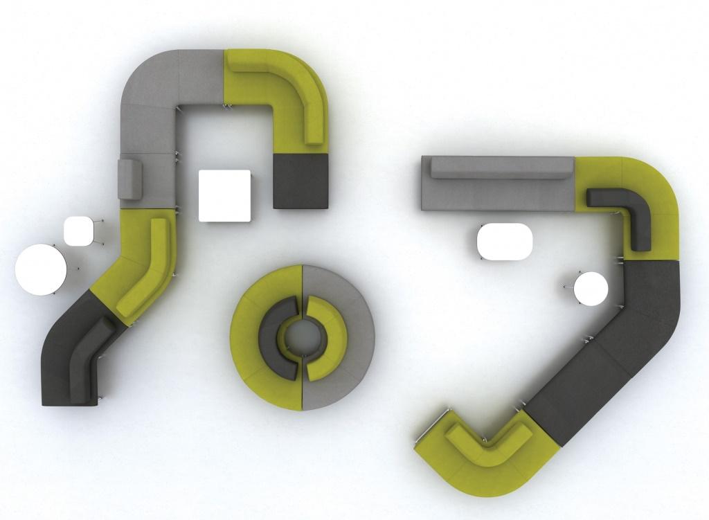 Legvan - siedziska modułowe