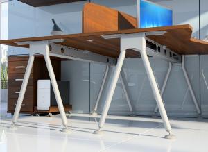 Metalowe nogi biurka