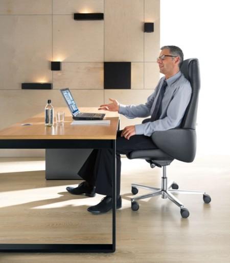 komfortowy fotel gabinetowy FORMAT 10SL