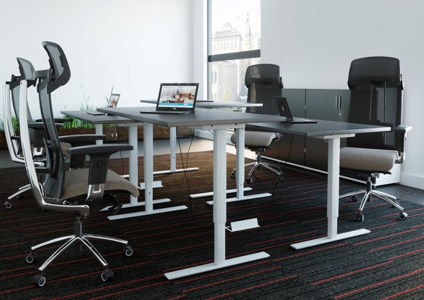 biurko podnoszone elektrycznie