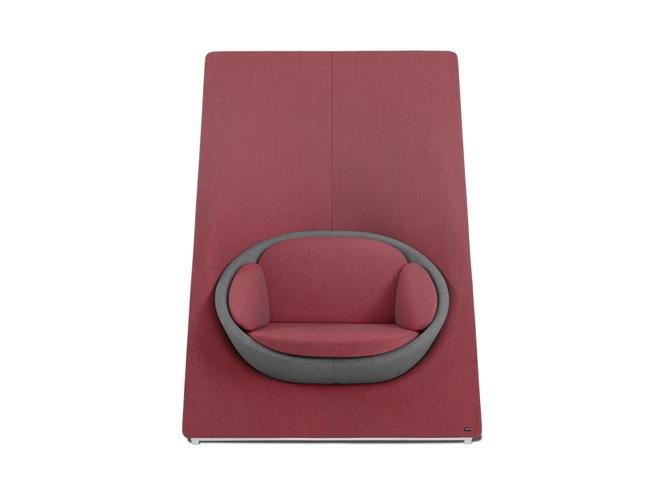 Fotel ze ścianką Profim