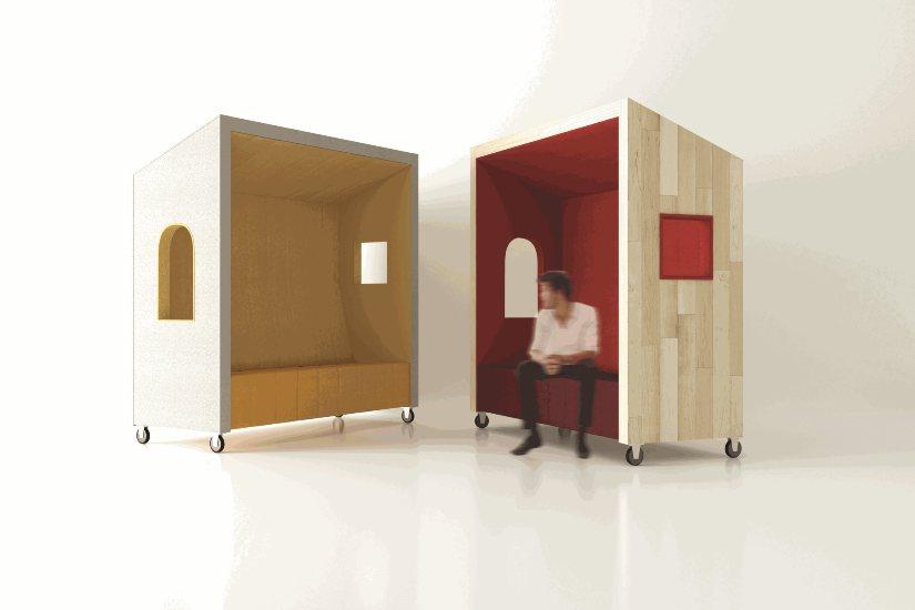 Beachhouse – mobilna sofa akustyczna do biur typu Open Space